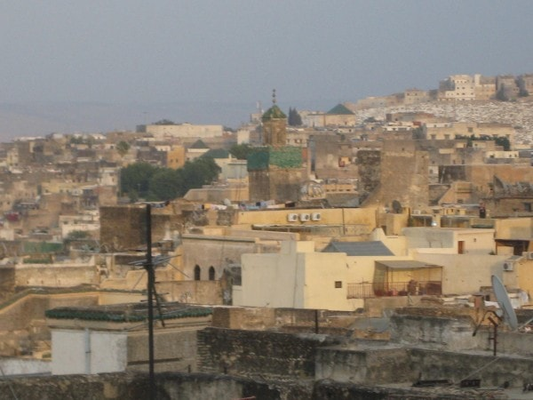 A stunning view of the Fez Medina, Morocco.